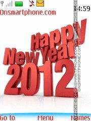 Happy New Year 2012 06 tema screenshot