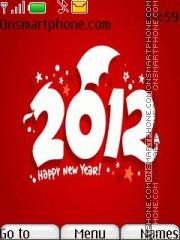 Скриншот темы New 2012 Year