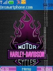 Скриншот темы Harley Davidson 03