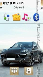 Porsche Cayenne 2011 Theme-Screenshot