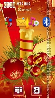 Happy Christmas 04 theme screenshot