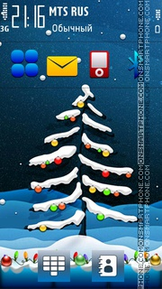 Nice Merry Christmas To All tema screenshot
