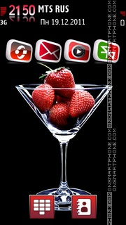 Strawberry 12 theme screenshot