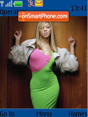 Beyonce 01 theme screenshot