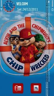 Скриншот темы Chipmunks