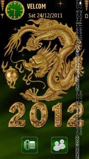 New Year 2012 theme screenshot
