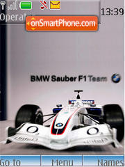 Bmw Sauber F1 Team theme screenshot