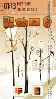 Winter 16 es el tema de pantalla