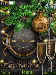 New Year's2 theme screenshot