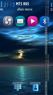 My sky v5 theme screenshot