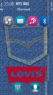 Levis 07 theme screenshot