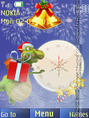 2012 new year theme screenshot