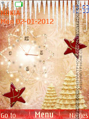Christmas trees tema screenshot