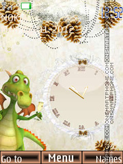 Dino new year Theme-Screenshot