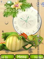 New Year Dragon tema screenshot