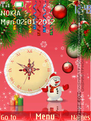 New Year tema screenshot