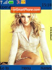 Britney 02 theme screenshot