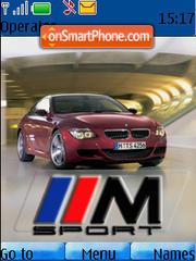 Bmw 650i theme screenshot