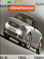 Audi TT 01 theme screenshot