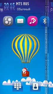 Hot Air Balloon theme screenshot