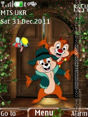 Chipmunks theme screenshot