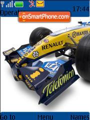 F1 Renault theme screenshot