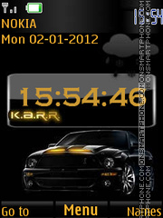 Sports Car By ROMB39 tema screenshot