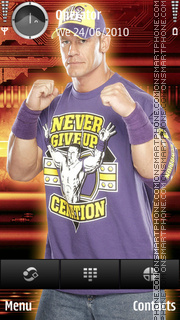 John cena purple tema screenshot
