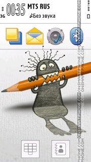 Pencil Style Special theme screenshot