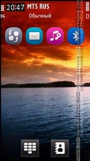 Sunset Hd View theme screenshot