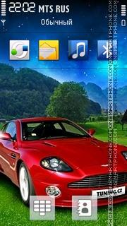 Red Car 06 Theme-Screenshot