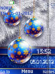 Holiday tema screenshot