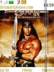 Conan the Barbarian tema screenshot