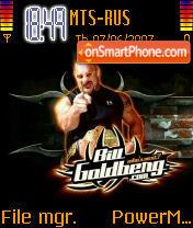 Goldberg Next theme screenshot