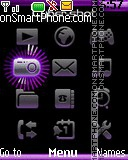 Violet tema screenshot
