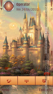 Enchanted Castle es el tema de pantalla