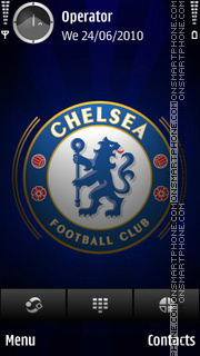 Chelsea theme screenshot