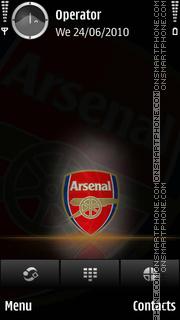 Arsenal theme screenshot