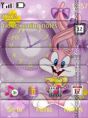 Скриншот темы The babe a rabbit