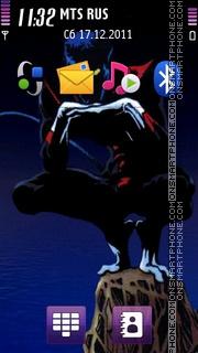 Скриншот темы Nightcrawler