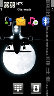 Airplane 02 theme screenshot