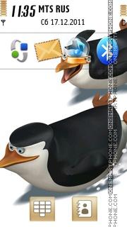 Penguins of Madagascar theme screenshot