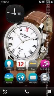 JS Watch co. Islandus 01 es el tema de pantalla