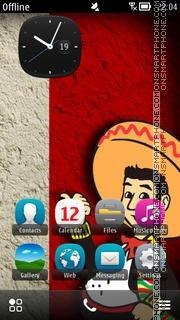 Capture d'écran Mexican Theme thème