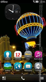 Las Vegas Casino theme screenshot