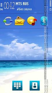 Sea Nature V2 01 theme screenshot
