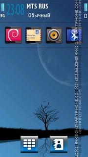 Capture d'écran Lonely 16 thème