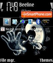 Скриншот темы Bruce Lee 02