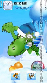 Dragon Year! theme screenshot