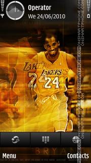 Kobe theme screenshot